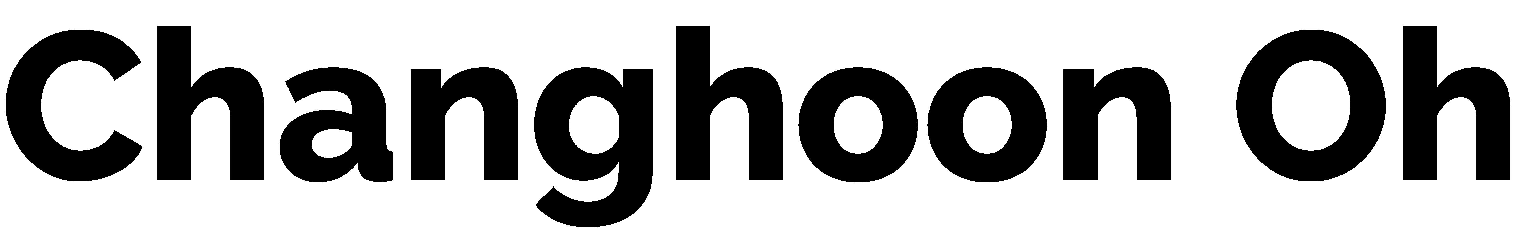 Changhoon Oh Logo